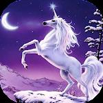 Subway Unicorn running Icon