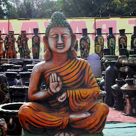 Buddha !!! by Rushi Chitre - Buildings & Architecture Statues & Monuments