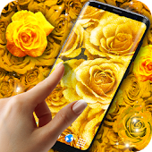 App Golden Roses Live Wallpaper APK for Windows Phone