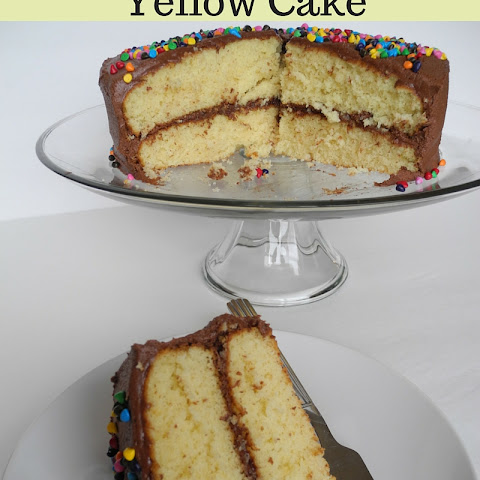 Homemade Yellow Cake