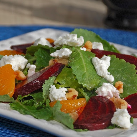 Kale, Beet & Goat Cheese Salad