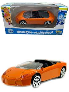 """Машинка гоночная """"Фиксики"""" 1:64 Нолик оранжевая"""