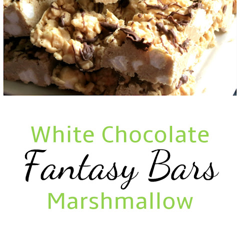 White Chocolate Marshmallow Fantasy Bars
