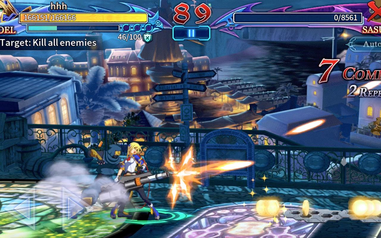 BlazBlue RR - Real Action Game Screenshot 1