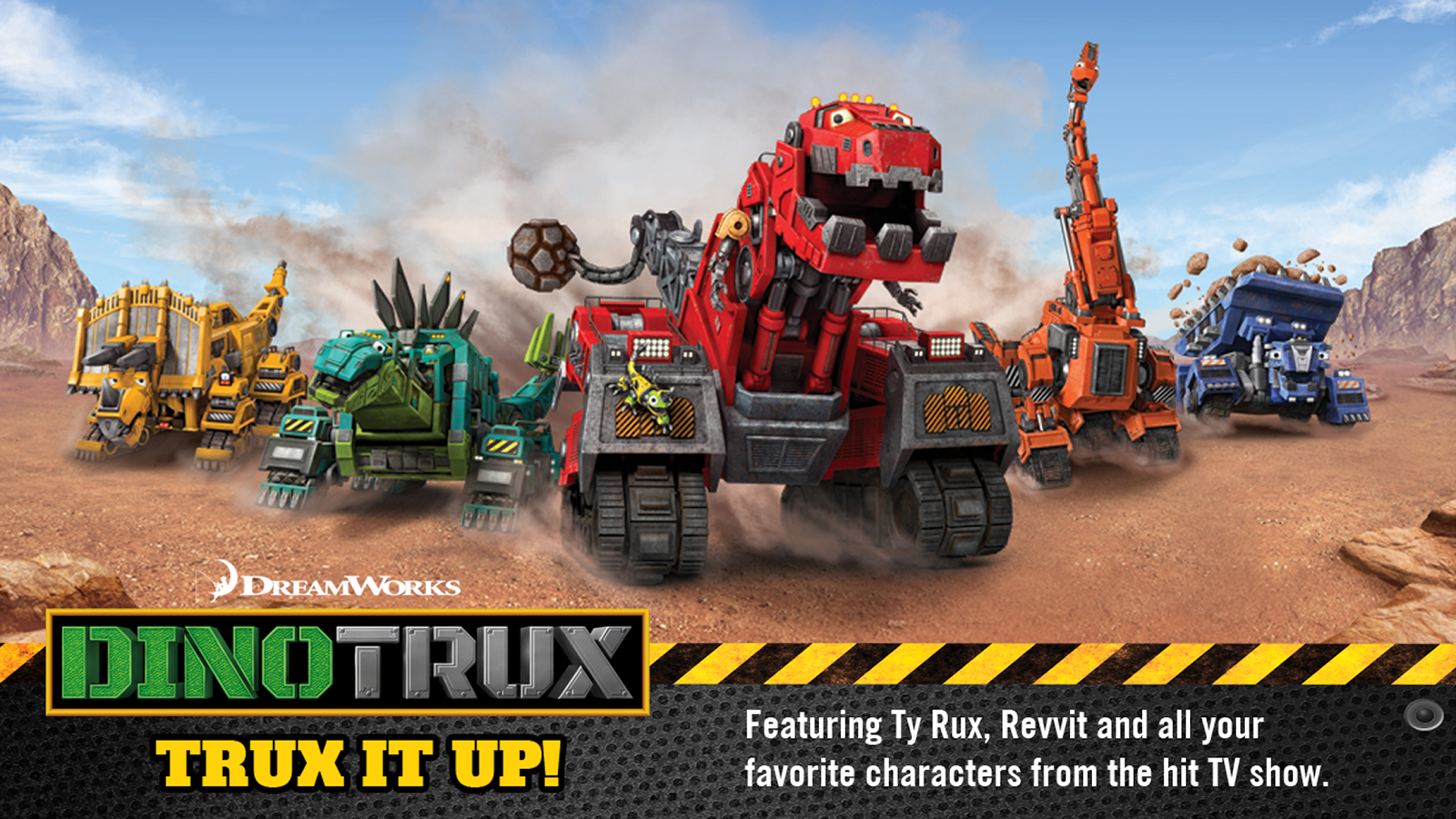 DINOTRUX Screenshot 0