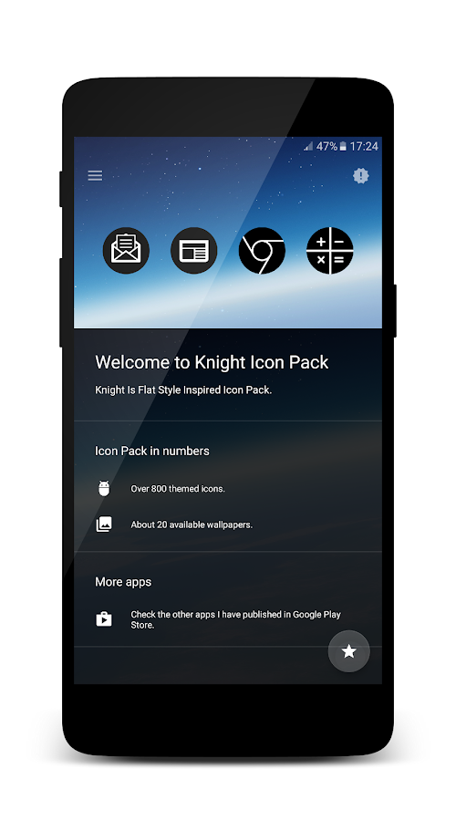 Knight - Icon Pack Screenshot 5