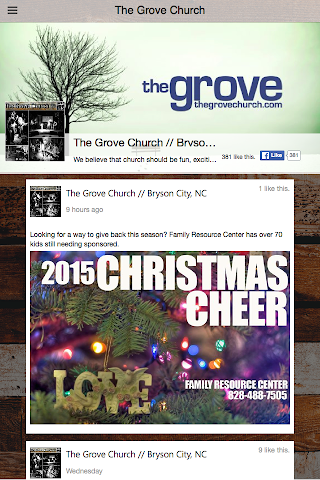android The Grove Church - NC Screenshot 2