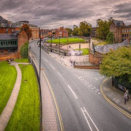 Roma Amphitheatre, Chester by Krasimir Lazarov - City,  Street & Park  Historic Districts ( wales, historic district, chester county, cityscape, architecture, united kingdom, city )