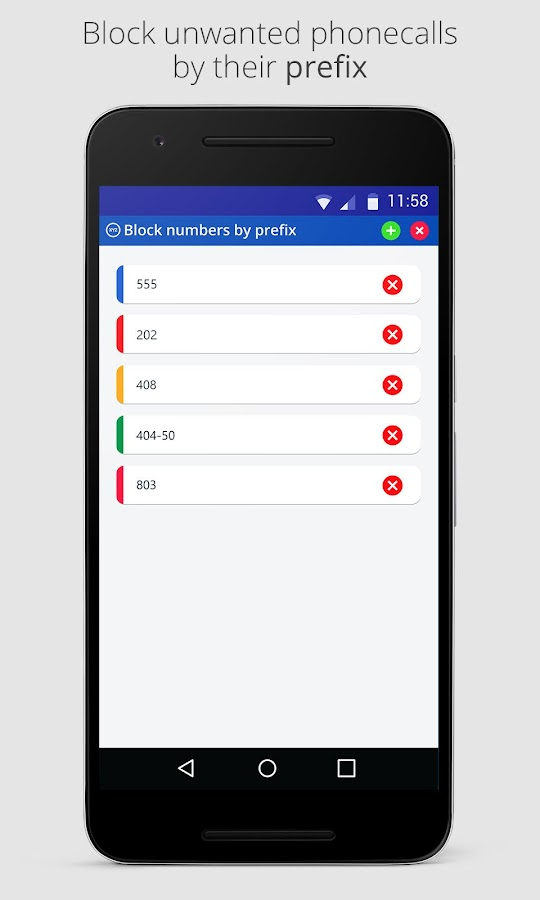 BlockIT PRO - Call Blocker Screenshot 3