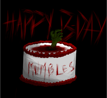 Happy Birthday Morbid Mumbles!