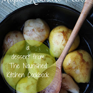 Roasted Pears Maple Syrup Recipes