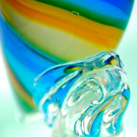 The Beauty Of Glass by Wendy Kreger-Hildebrand - Abstract Patterns ( abstract, patterns, glass, colours,  )