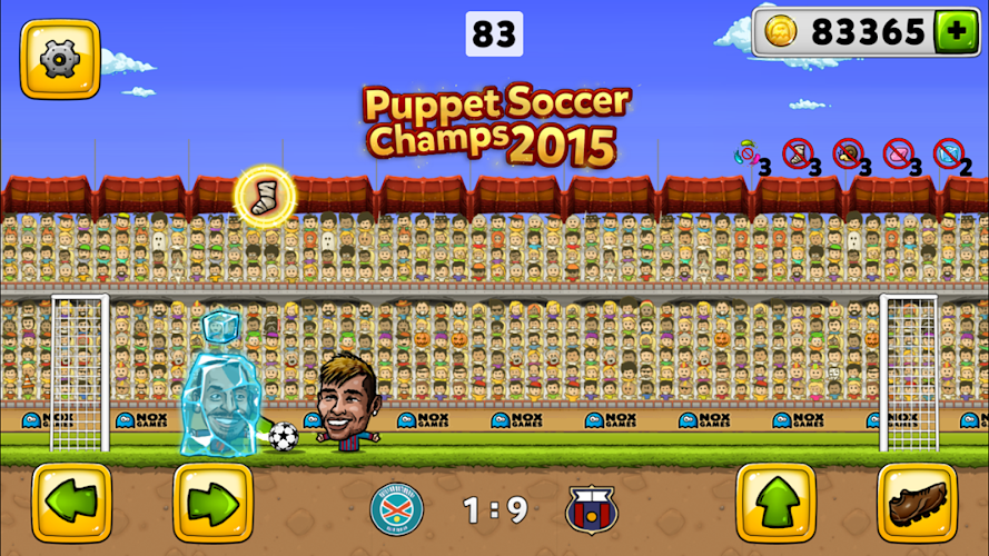Puppet Soccer Football 2015 Android App Screenshot
