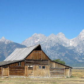 Tetons by Anu Sehgal - Buildings & Architecture Decaying & Abandoned (  )