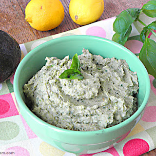 Avocado Bean Dip {Dairy & Nut Free}