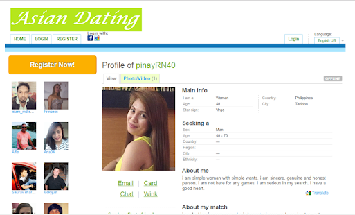 Asian dating site google search