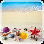 Beach Seashells Live Wallpaper Icon