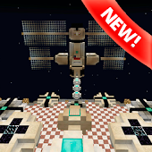 Space PvP map for Minecraft