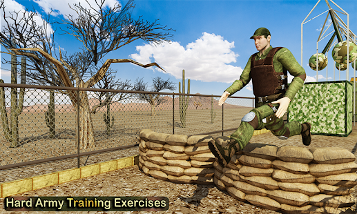US Army Training Heroes Game APK for Bluestacks
