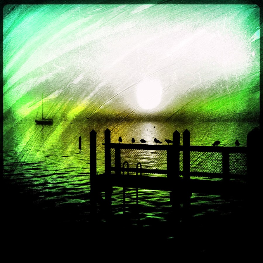 The Pier by Phil Bishop - Landscapes Waterscapes ( water bay, fog, pier, iphone art )