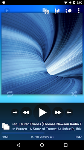 Poweramp Music Player (Trial) Android App Screenshot