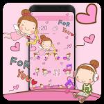 Angel Cartoon Theme Icon
