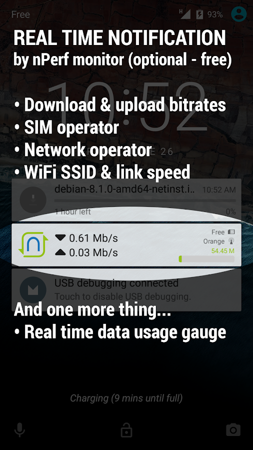Speed Test & QoS 3G 4G WiFi Screenshot 6