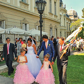 Keszthely Castle - Balaton,Hungary by Jerko Čačić - Wedding Groups (  )