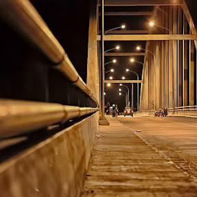 ALL NIGHT LONG by Fammz Fammudin - Buildings & Architecture Bridges & Suspended Structures ( buildings, night, architecture, bridges, landscapes )