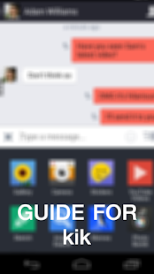 Guide for Kik Messenger - screenshot