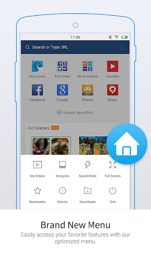 UC Browser Mini -Tiny Fast Private & Secure screenshot 1