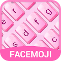 Free Crystal Pink Emoji Keyboard Theme for Hangouts APK for Windows 8