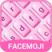 App Crystal Pink Emoji Keyboard Theme for Hangouts APK for Windows Phone