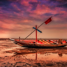 by Wong Ngidam - Transportation Boats