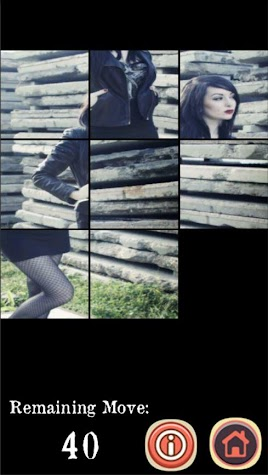Sexy Gothic Vamp Girls Puzzle Screenshot