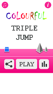 Colourful Triple Jump - screenshot