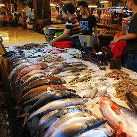 Fish Market by Mulawardi Sutanto - City,  Street & Park  Markets & Shops ( market, indonesia, fish, travel, bandung )
