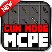 GUN MODS FOR MCPE APK for Bluestacks