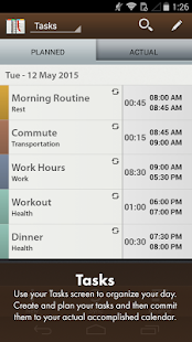 Schedule Planner Classic screenshot for Android