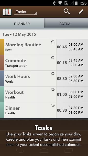 Schedule Planner Classic screenshots