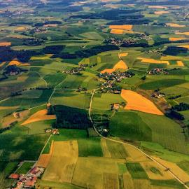 Fields of Bavaria by Travis Pambu - Landscapes Prairies, Meadows & Fields