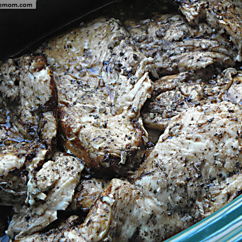 Crock Pot Balsamic Chicken Breasts