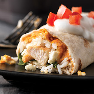 Greek-Style Burritos