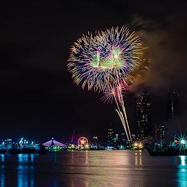 Đà Nẵng Fireworks by TBone Lê - Landscapes Travel ( da nang, international, fireworks, cityscape, nikon )