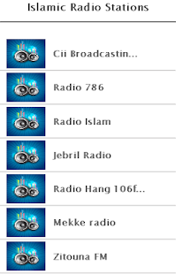 Islamic Radio Stations - screenshot