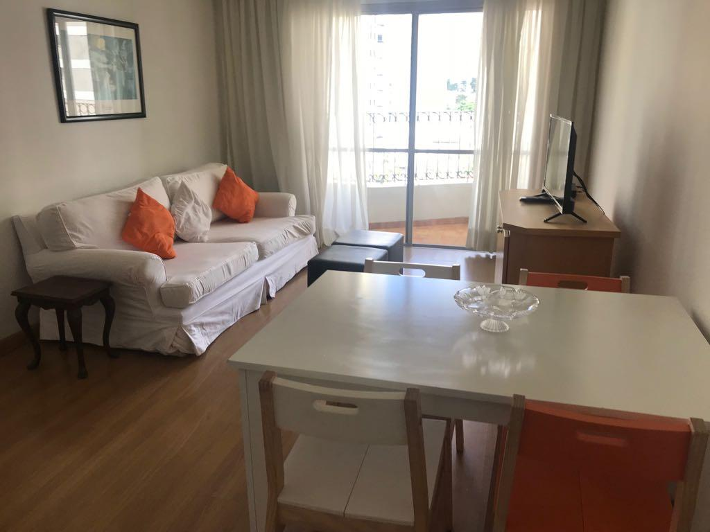 Flat residencial para locação, Jardins, São Paulo.