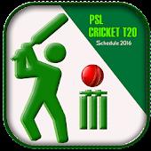 App PSL:Cricket T20 Schedule 2016 APK for Windows Phone