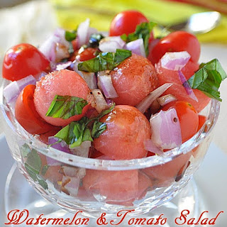 Cherry Tomato Watermelon Salad Recipes
