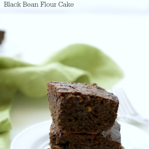 Gluten Free Chocolate Banana Black Bean Flour Cake