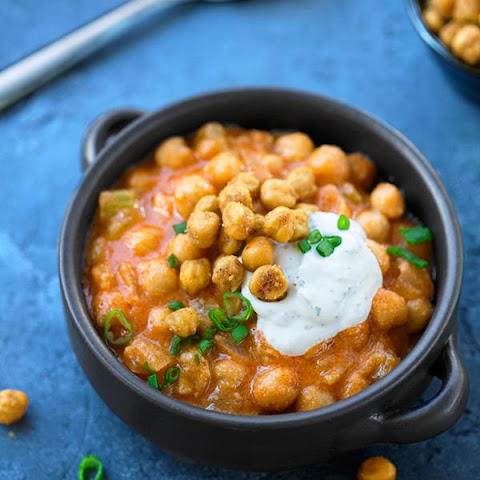 Buffalo-Ranch Chickpea Stew